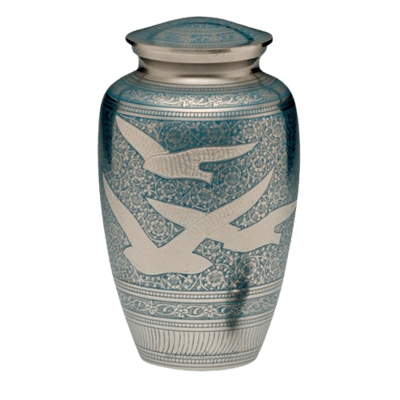 Flying Home Cremation Urn