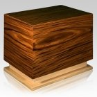 Folklore Wood Cremation Urn