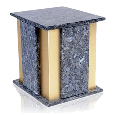 Foresta Blue Pearl Granite Cremation Urns