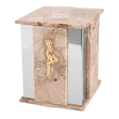 Foresta Silver Brown Tone Urn