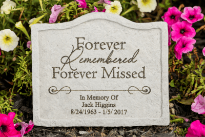 Forever Remembered Fused Stone