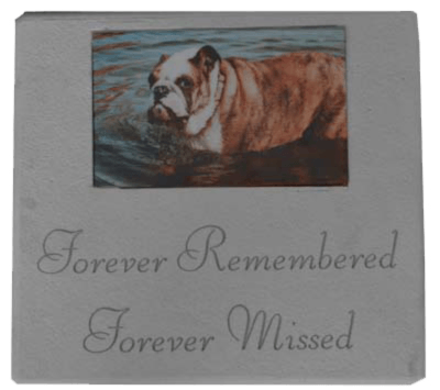 Forever Remembered Pet Grave Marker