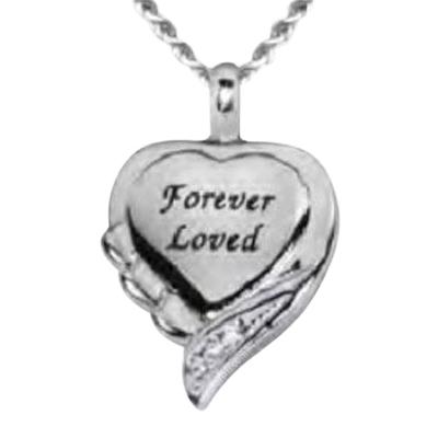 Forever Loved Keepsake Pendant