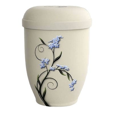 Forget Me Not Biodegradable Urn