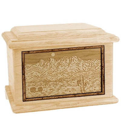 Four Peaks Maple Memory Chest Cremation Urn