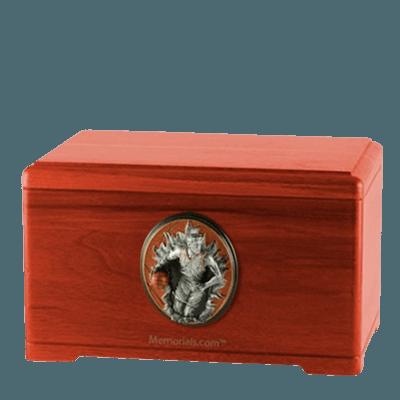 Free Throw Cherry Cremation Urn