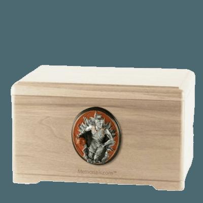 Free Throw Maple Cremation Urn