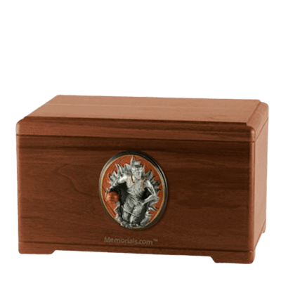 Free Throw Walnut Cremation Urn
