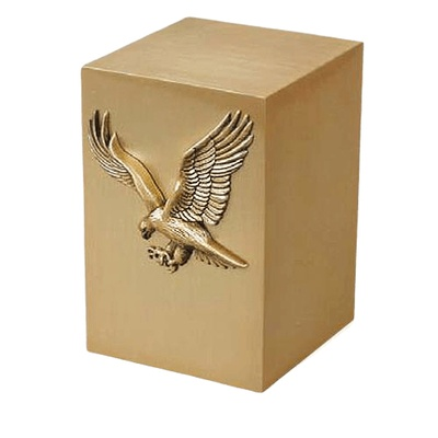 Freedom Bronze Cremation Urn