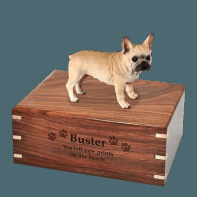 Frenchie Large Doggy Urn