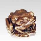 Frog Keepsake Cremation Urn