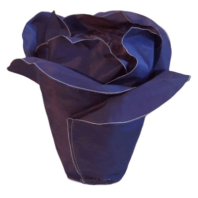 Frosted Plum Rose Cremation Urn