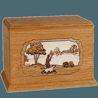 Gardening Mahogany Companion Urn