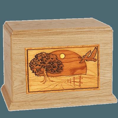 Geese Maple Companion Urn