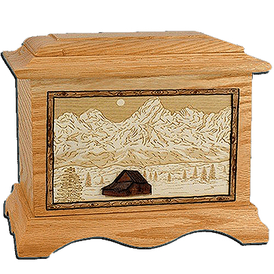 Grand Tetons Cremation Urns For Two