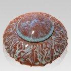 Garden Ivy Ceramic Cremation Urn