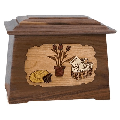 Gardening Walnut Aristocrat Cremation Urn