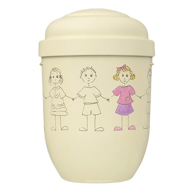 Girl Dreams Biodegradable Urn