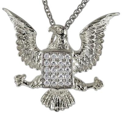 Glory Eagle Cremation Pendant III