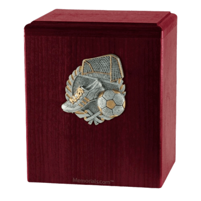 Goal Rosewood Cremation Urn
