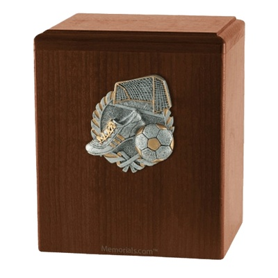Goal Walnut Cremation Urn