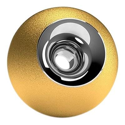 Gold & Chrome Sphere Pet Urn