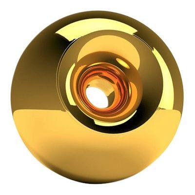 Gold Sphere Pet Urn