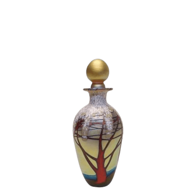 Golden Cherry Keepsake Urn