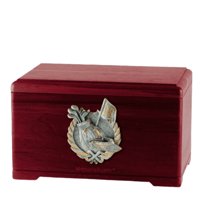 Golf Tour Rosewood Cremation Urn