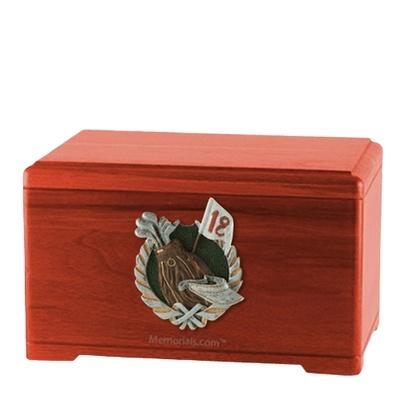 Golfer Cherry Cremation Urn