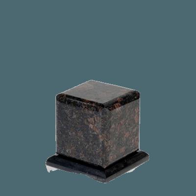 Grande Tan Brown Granite Medium Urn
