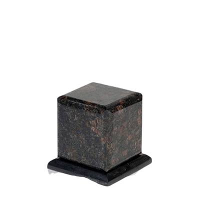 Grande Tan Brown Granite Medium Urn