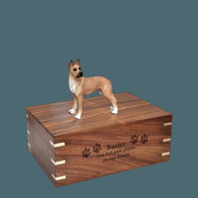 Great Dane Small Doggy Urn