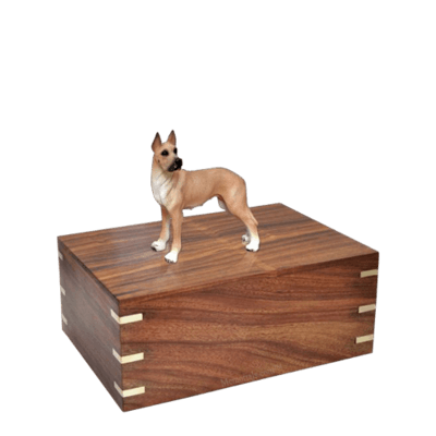 Great Dane Small Doggy Urn