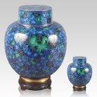 Emperor Blue Cloisonne Cremation Urns