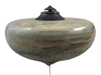 Green Alabaster Cremation Urn