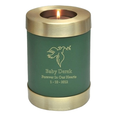 Green Child Candle Cremation Urns