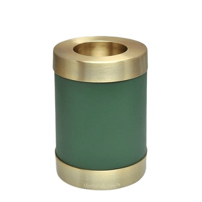 Green Child Candle Small Cremation Urn