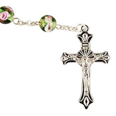Green Crystal Rosary
