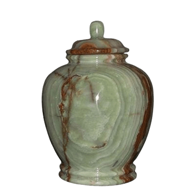 Green Onyx Small Child Urn