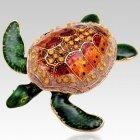 Green Turtle Keepsake Urn