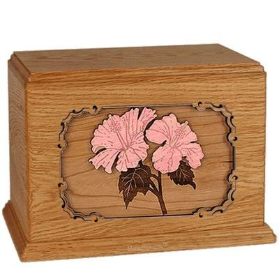 Hibiscus Mahogany Companion Urn