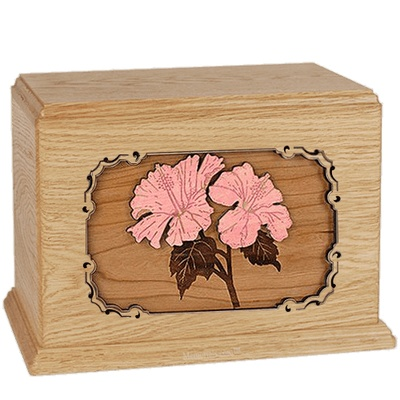 Hibiscus Maple Companion Urn