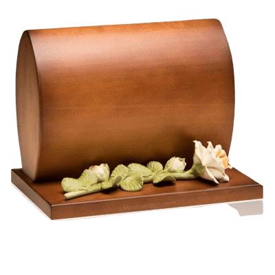 Harmonious Wood Cremation Urn