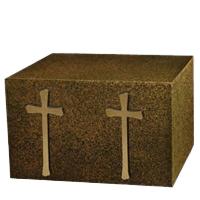 Harmony Cross Companion Cremation Urn