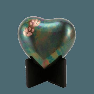 Wood Heart Keepsake Stand