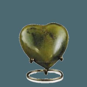 Gold Heart Keepsake Stand
