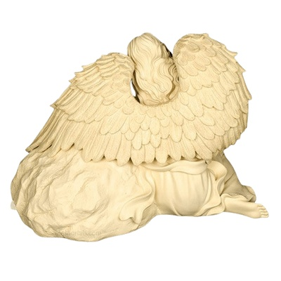 Heavenly Guardian Angel Cremation Urn