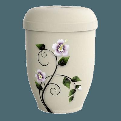 Hibiscus Biodegradable Urn