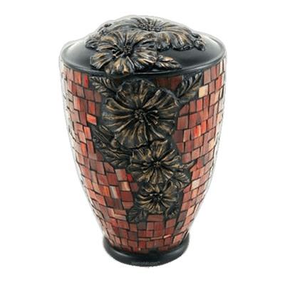 Hibiscus Garden Cremation Urns